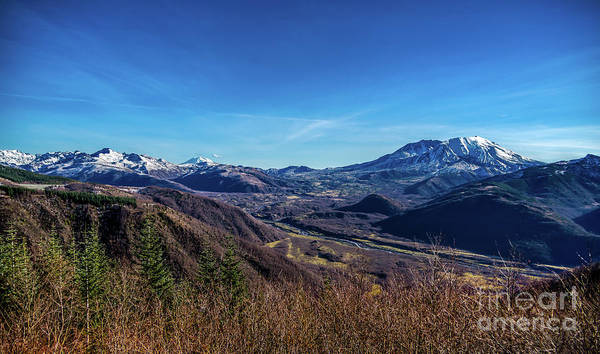 Photograph - Cascade Mountains And The Toutle River Valley by Jon Burch Photography