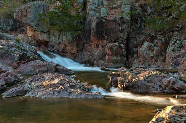 Photograph - Cascade On Rocky Creek by Steve Stuller