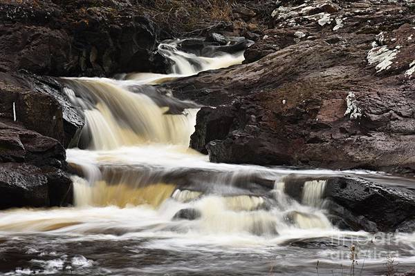 Photograph - Cascade On The Two Island River by Larry Ricker