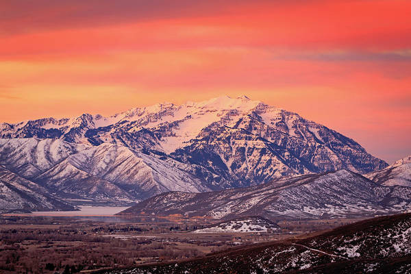 Photograph - Cascade Ridge Sunrise by Johnny Adolphson