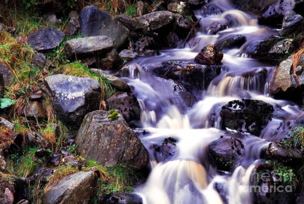 Photograph - Cascade Sperrin Mountains by Thomas R Fletcher