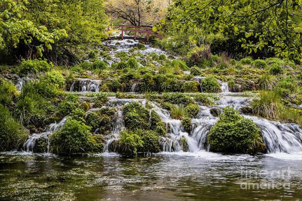Heber Springs Photograph - Cascade Springs Utah by Richard Lynch