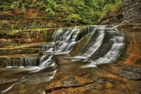 Hdr Wall Art - Photograph - Cascades by Evelina Kremsdorf