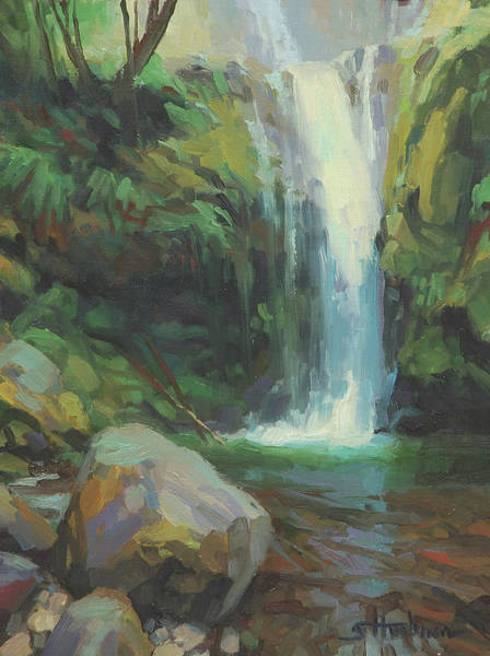 Wall Art - Painting - Cascadia by Steve Henderson