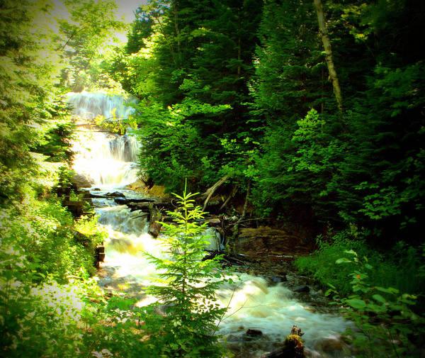 Photograph - Cascading Falls by Jeff Kurtz