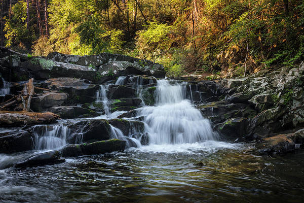 Photograph - Cascading Over The Rocks by Debra and Dave Vanderlaan