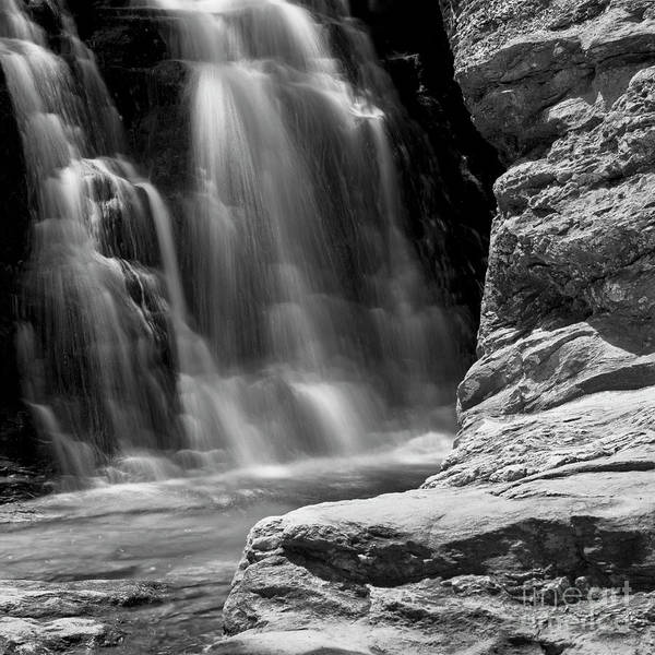 Nc State Wall Art - Photograph - Cascading by Patrick M Lynch