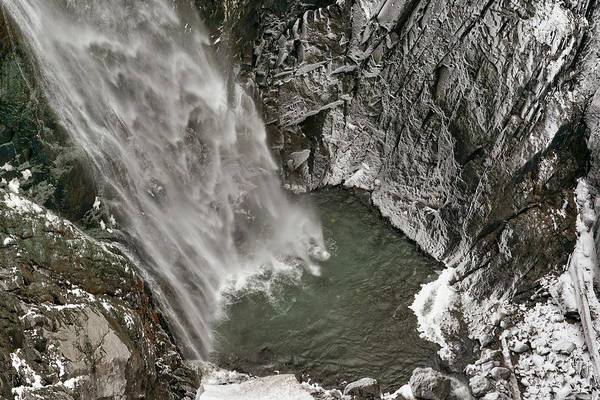 Photograph - Cascading Waters by Leda Robertson