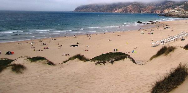 Photograph - Cascais Beach Vii Portugal by John Shiron