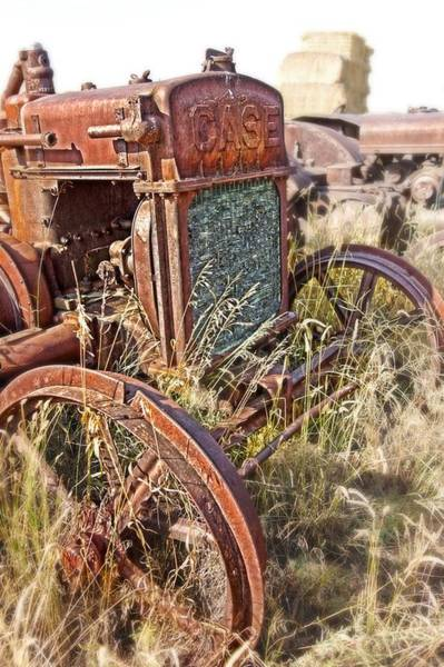 Photograph - Case And Bales by Amanda Smith