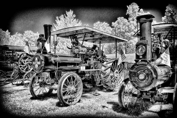 Wall Art - Photograph - Case Tractor Looking Like New by Paul W Faust - Impressions of Light
