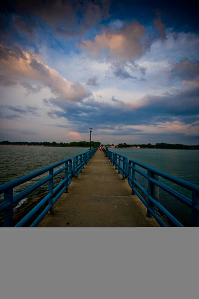 Wall Art - Photograph - Caseville Breakwall by Melissa  Riggs