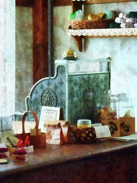Photograph - Cash Register In General Store by Susan Savad