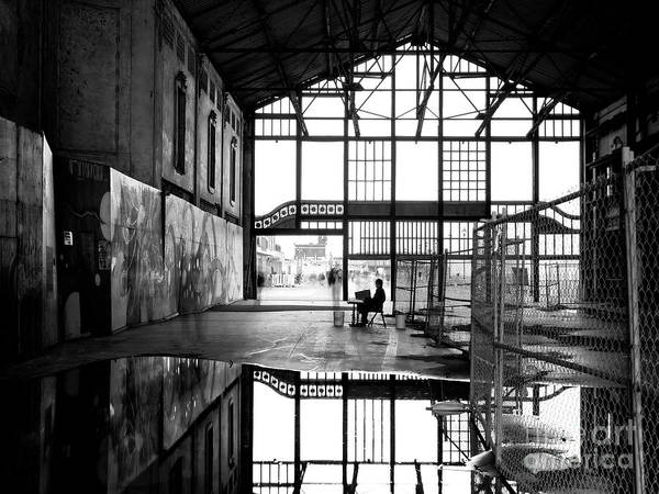 Photograph - Casino Reflections by John Rizzuto
