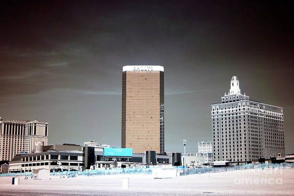 Photograph - Casino Visions Infrared by John Rizzuto