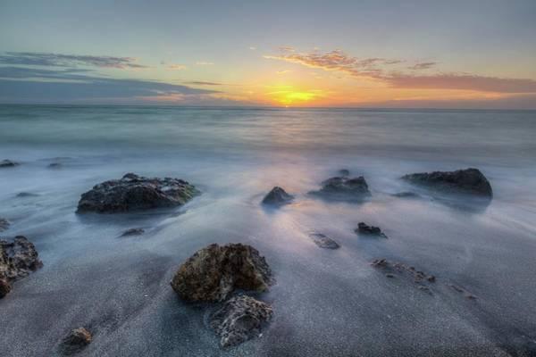 Photograph - Casperson Beach Sunset by Paul Schultz