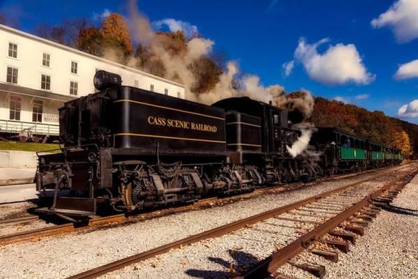 Cass Wall Art - Photograph - Cass Scenic Railroad by Mountain Dreams