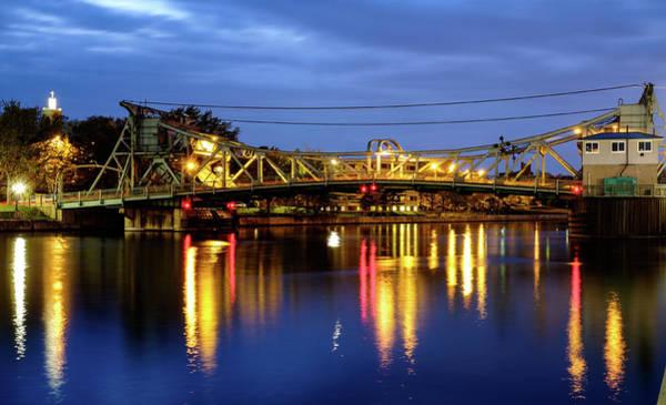 Photograph - Cass Street Bascule Bridge by John McArthur