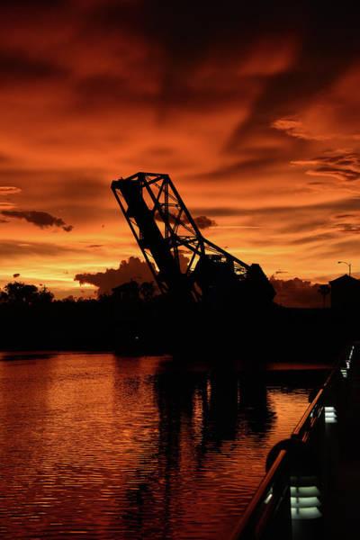 Cass Wall Art - Photograph - Cass Street Bridge Sunset by David Lee Thompson
