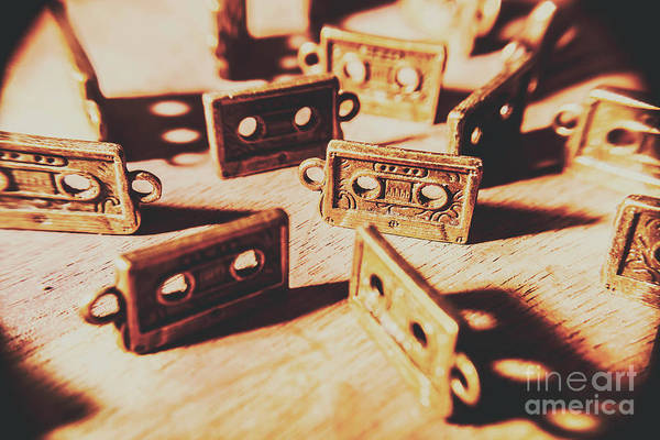 Object Wall Art - Photograph - Cassette Club Dance by Jorgo Photography - Wall Art Gallery