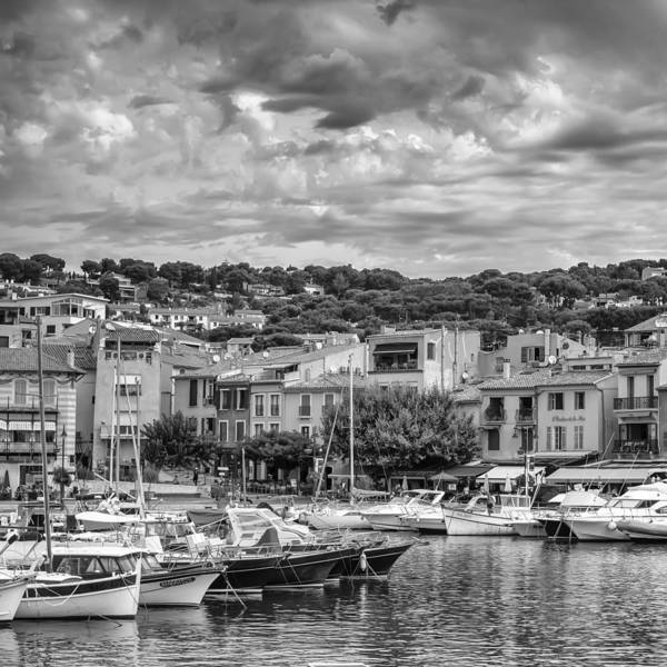 Photograph - Cassis - South Of France - Square by Georgia Fowler