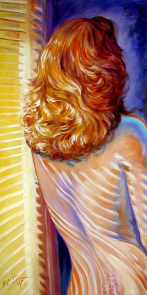 Painting - Cast In Sunlight by Marcia Baldwin