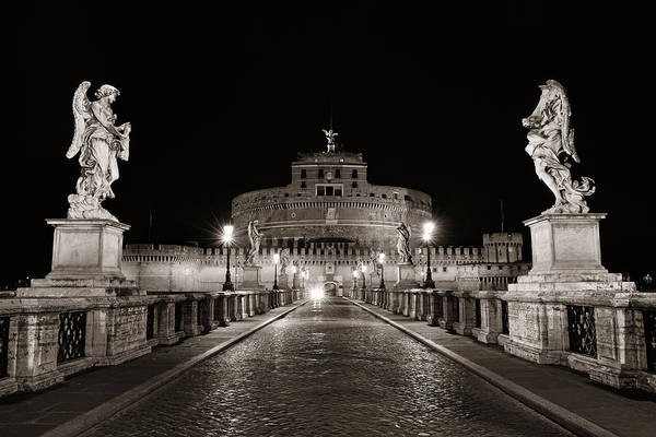 Photograph - Castel Sant Angelo by Songquan Deng