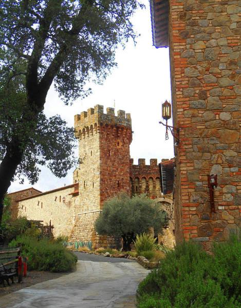 Wall Art - Photograph - Castello Di Amorosa Napa Valley California by Irina Sztukowski