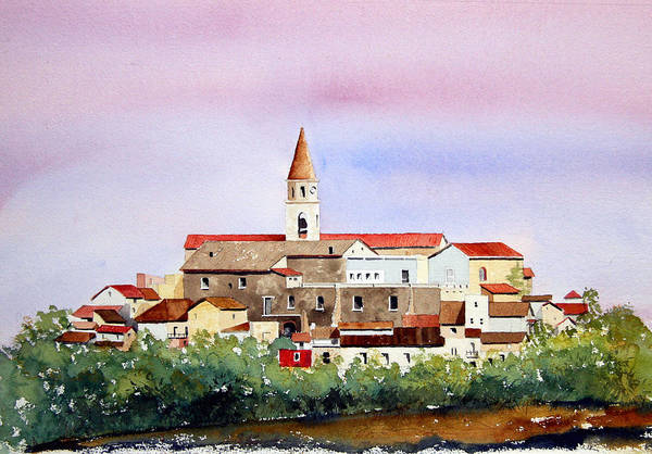 Painting - Castelnuovo Della Daunia by William Renzulli