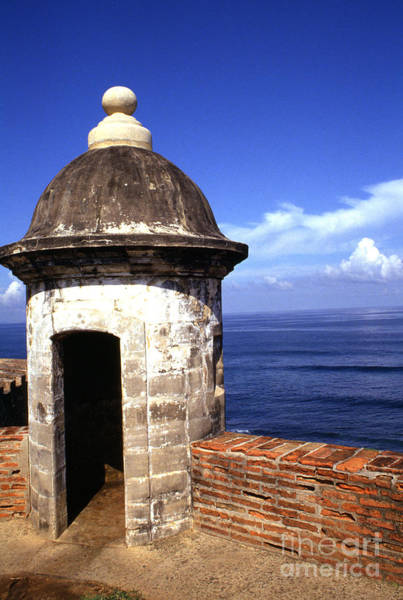 Sentry Box Photograph - Castillo De San Cristobal by Thomas R Fletcher
