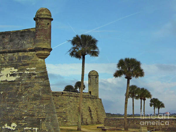 Photograph - Castillo De San Marcos by D Hackett