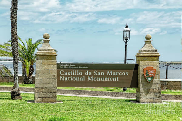 Photograph - Castillo De San Marcos National Monument by Kay Brewer