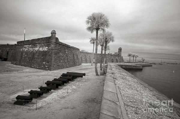Saint Augustine Beach Wall Art - Photograph - Castillo De San Marcos, St Augustine, Fl, Infrared Photo by Felix Lai