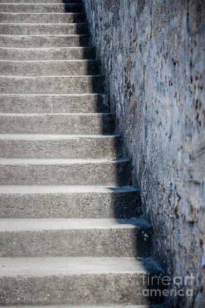 Photograph - Castillo De San Marcos Stairway No. 2 by Todd Blanchard