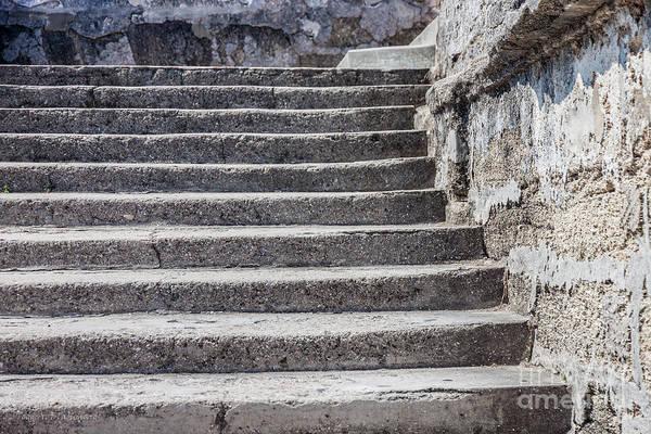 Photograph - Castillo De San Marcos Stairway No. 3 by Todd Blanchard