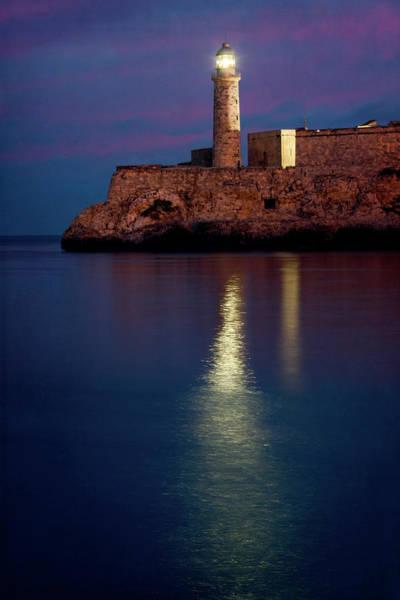 Photograph - Castillo Del Morro Lighthouse Havana Cuba by Joan Carroll