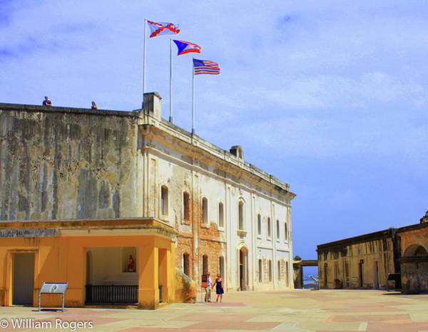 One In A Million Photograph - Castillo San Felipe De Morro by William Rogers