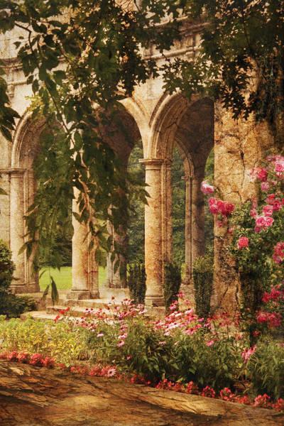 Photograph - Castle - The Secret Garden by Mike Savad