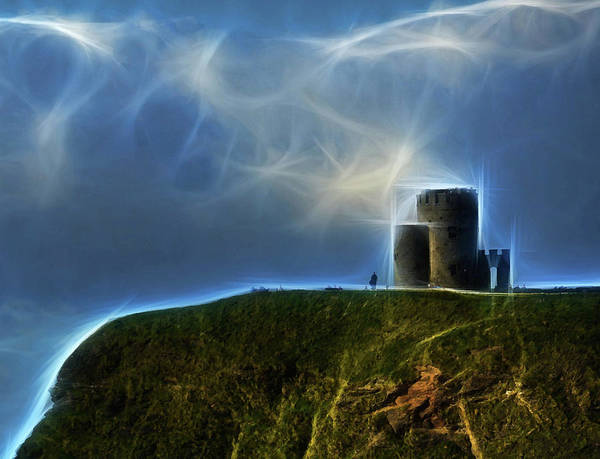 Photograph - Castle At Moher by Coleman Mattingly