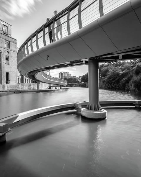 Photograph - Castle Bridge C Bristol England by Jacek Wojnarowski