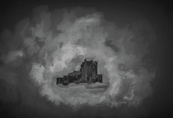 Digital Art - Castle Bw #h1 by Leif Sohlman