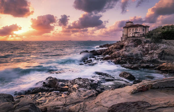 Photograph - Castle By The Sea by Matteo Viviani