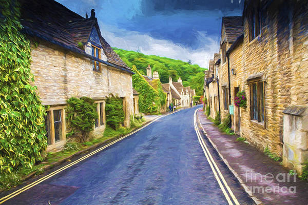 Wall Art - Photograph - Castle Combe Village by Sheila Smart Fine Art Photography