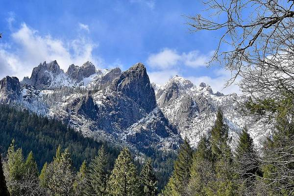 Castle Crags Art Print