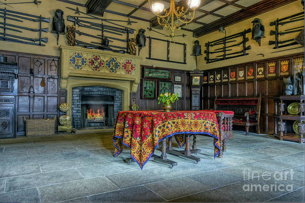 Photograph - Castle Dining Room by Ian Mitchell