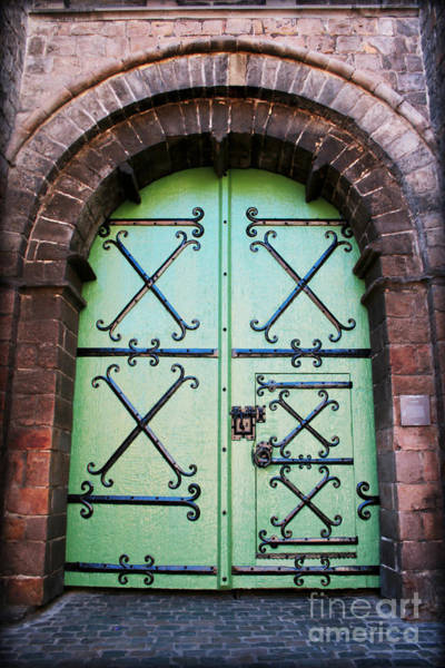 Photograph - Castle Door by Carol Groenen
