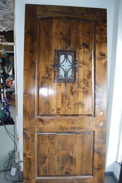 Walnut Mixed Media - Castle Door by Tammy Hopper