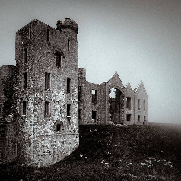 Wall Art - Photograph - Slains In The Fog by Dave Bowman
