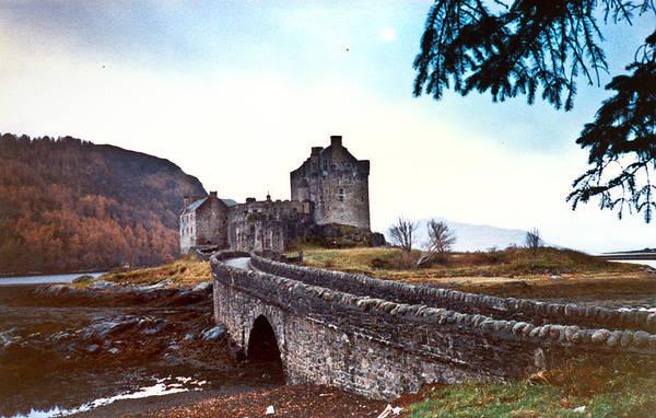 Wall Art - Photograph - Castle Eilean Scotland by Douglas Barnett