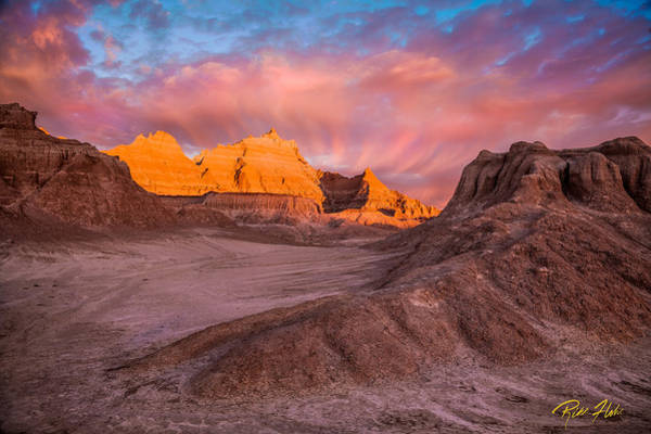 Photograph - Castle Formation At Sunrise by Rikk Flohr